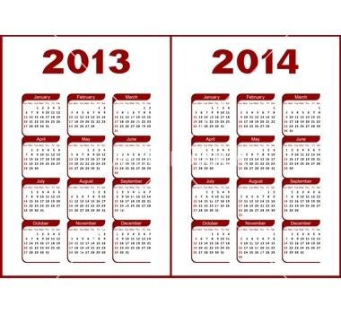 Calendar 2013,2014